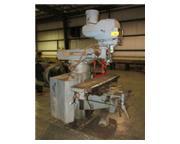 "Bridgeport Series II, vertical mill, 11"" x 58"" table, 4 HP, Trionics Promax DRO,"