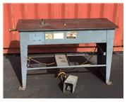 "LUBOW ML6 SINGLE STOP TABLE BENDER, 24"" X 60"" TABLE SIZE"