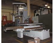 """4"""" UNION TABLE TYPE HORIZONTAL BORING MILL W/ ROTARY TABLE"""