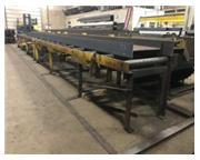 MCNICHOLS POWERED ROLLER CONVEYOR 4 heavy duty powered (approx. 40' in/