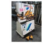"4"" x 4"" x 1/2"" Geka # HYDRACROP-55/S , hydraulic, 50 Ton, dual operator con"