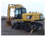 2011 CATERPILLAR M318 D W/ PLUMBING ON STICK W/ CAB W/ A/C & HEAT - E71