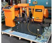 "COSEN C-300NC, 2008, 12"" FULLY AUTOMATIC HORIZONTAL BAND SAW"