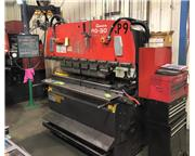 AMADA RG50 55 Ton CNC Up-Acting Hydraulic Press Brake
