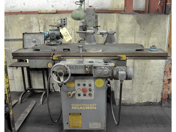 Cincinnati-Milacron MODEL 2MT, NEW 1990, POWER TABLE OPTION, TOOL  CUTTER GRINDER, TABLE I