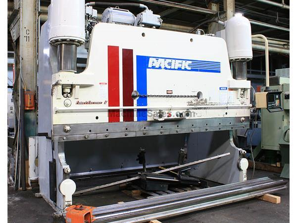 "350 Ton 144"" Bed Pacific FF350-12-I PRESS BRAKE, Hurco Autobend 5C CNC Back Gauge"