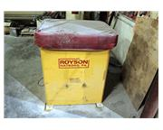 3 Cu. Ft. Royson 3C, NEW 2010, VIBRATORY FINISHER, RECTANGULAR TUB,