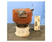 2.5 Cu. Ft. Sweco FMD-2.5LR WITH INTERNAL PARTS SEPARATOR VIBRATORY FINISHER, ROUND BOWL,