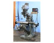 "42"" Table 1.5HP Spindle Bridgeport 2J Vari-Speed VERTICAL MILL, Vari-Speed,Acu-rite D"