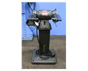 "6"" Wheel 0.5HP Motor Baldor 532 DIAMOND WHEEL TOOL GRINDER CARBIDE GRINDER, PEDESTAL"