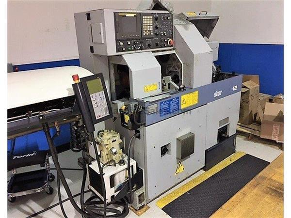 "0.625"" Dia. Star SA-12 CNC SWISS TYPE LATHE, Fanuc 18iT, Live Tool, Subspndle, LNS Express"