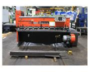 """0.25"""" Cap. 78.74"""" Width Amada M-2060 SHEAR, Front Operated Programmable Back Gau"""