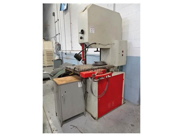 "23"" Throat 13"" Height Dake-Johnson VH-24 VERTICAL BAND SAW, Vari-Speed, Hyd-Tabl"