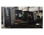 "2015 Samsung PL60LM CNC Lathe with Live tooling, 125"" between centers,"