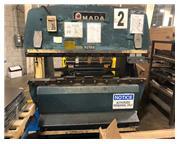 1985 Amada RG802, 6' x 88 Ton Hydraulic Press Brake