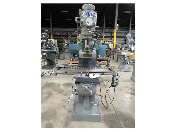 "SHARP MODEL LMV-42 VERTICAL TURRET MILLING MACHINE, 9"" X 42"""