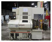 2004 WASINO MODEL G-07 GANG TOOL CNC LATHE WITH LOADER, 1-1/16""