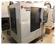 """FEELER, VMP-580, 22.8"""" X, 16.5"""" Y, 20"""" Z, FANUC 0IMD CNTRL,"""