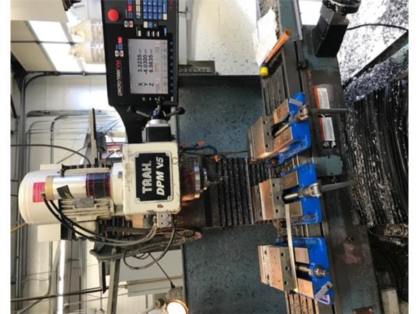 "40"" X Axis 5HP Spindle Southwest Ind. DPMV5 CNC VERTICAL MILL, Prototrak VM, Elec. Ha"