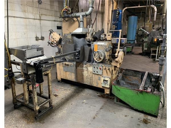 "4"" Dia. Cap 15hp Motor HP Cincinnati-Milacron CINCO 15, ""DR"", NEW 1984, SET UP FOR THRUFEED CENTERLESS GRINDER, HYD. DRESSERS, SBS AUTO ELECTRONCI WHE"