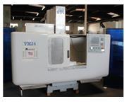 "Milltronics # VM24 Series C, 40"" X, 24"" Y, 24"" Z, 4k RPM, 20 ATC, Centurion"