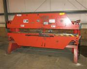 "24 Ton, Foremost Bantam # B824 , mech pneumatic press brake, 8' OA, 90"" BH, 2"" s"