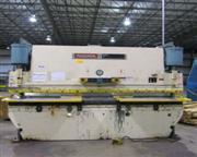 """135 Ton, Niagara # HBM-135-10-12 , CNC hydraulic, 12' OA, 10'6"""" BH, 8"""" str, 7&qu"""