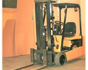 Caterpillar Electric Forklift Model EP20KT with Charger New 1999