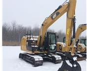 2015 CATERPILLAR 312 EL W/ HYDRAULIC COUPLER & CAB W/ A/C & HEAT E7
