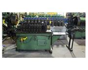 $7,950! 10 Stand TISHKEN Rollformer w/Punch & Cut-Off Press