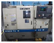OKUMA LB-300M BIG BORE CNC LATHE