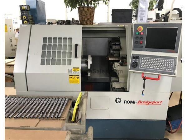 Bridgeport-Romi POWER PATH CNC LATHE, DX-32