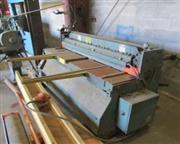 12 ga. x 4' Whitney Jensen # 5212 , power shear, 76 SPM, ROMBG, front material supports, 2
