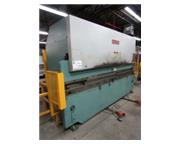 "65 Ton, Allsteel # 65-12 , 2-Axis hyd press brake, 12' OA, 10'6"" BH, 20 HP, CNC BG, #"