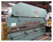 "65 Ton, Allsteel # 65-12 , CNC 2-Axis hyd press brake, 12' OA, 10'6"" BH, 20 HP, #8450"