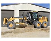 2008 CATERPILLAR 120 M W/ FRONT SCARIFER & ENCLOSED CAB W/ A/C & HE