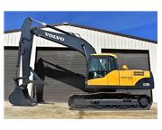2008 VOLVO EC210CL W/ MANUAL THUMB & CAB W/ A/C & HEAT - E7026