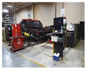 22 TON AMADA VIPROS 2510 KING FANUC 18P, MP1225NJ LOAD/UNLOAD,MFG:2000