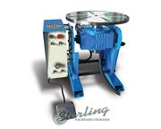 "484 lb. Baileigh # WP-450 , 13"" turn table., 110 V., manual tilt, foot pedal, #A5644"