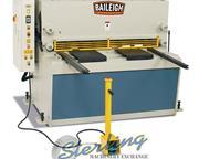 """1/4"""" x 4' Baileigh # SH-5203-HD , 15 HP, heavy duty hyd shear, front & back gauges, f"""