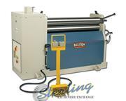 """4' x 1/4"""" Baileigh # PR-403 , hydraulic single pinch plate roll, DRO, 2.835"""" hyd"""
