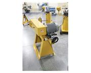 "Baileigh # TN-600 , 6"" x 79"" belt size, abrasive notcher, 5 HP, lever feed, adj"