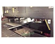 22 Ton, Amada # LC2012-C1-NT , dust collector, turret punch/laser comb, 45 station, 1 A/I,