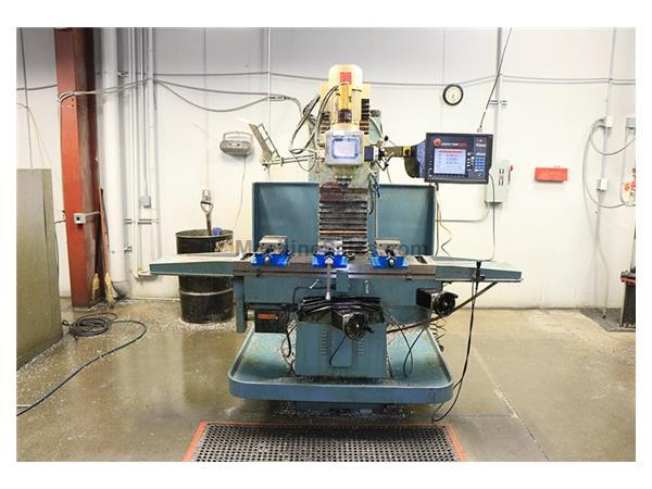 "40"" X Axis 5HP Spindle Southwest Ind. FHM-5 CNC VERTICAL MILL, ProtoTrak SMX Cntrl,BedType,#40PDB,Inverter Drive"