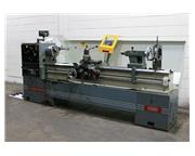 "20"" Swing 87"" Centers Clausing-Metosa C2087 ENGINE LATHE, 3-Jaw, 4-Jaw, Toolpost"