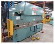 "65 Ton, Allsteel # 65-12 , CNC 2-Axis hyd press brake, 12' OA, 10'6"" BH, 20 HP, #8453"