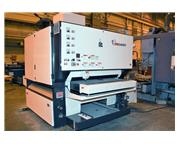 TIMESAVER 4141-25-00 (4) Head Wet Deburring & Finishing Machine