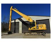 2013 KOMATSU PC290LC- 60 LONG REACH W/ ENCLOSED CAB W/ A/C & HEAT E7116