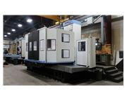 "2012 DOOSAN DB 130L HORIZONTAL BORING MILL, 78.74""X86.61"" TABLE"