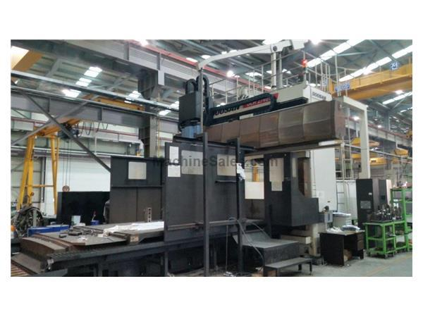 2009 DOOSAN DCM 2740W FIVE FACE DOUBLE COLUMN MACHINING CENTER